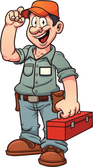 Cartoon Repairman Vector Art 153135201   Thinkstock