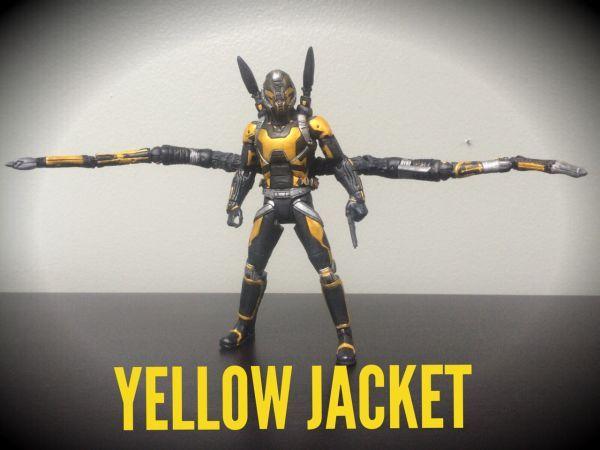 Yellow Jacket Marvel Cinematic Marvel Legends Custom