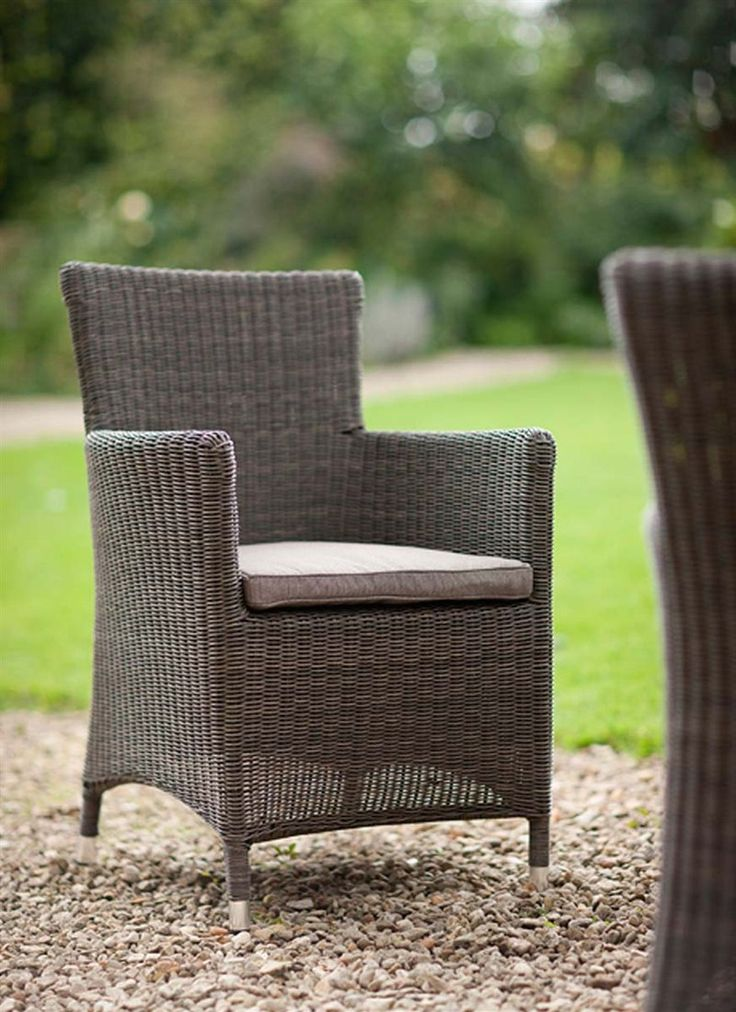 Our Chilgrove Chair made from weatherproof PE Rattan goes perfectly with our outdoor tables
