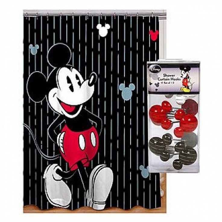 1000+ Ideas About Mickey Mouse Shower Curtain On Pinterest