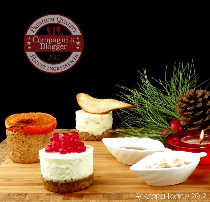 CDB: Cheesecakes salate con sorprese di frutta