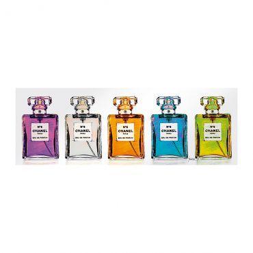Print achter glas Luxury Parfum - 33x95cm incl. ophanghaakjes