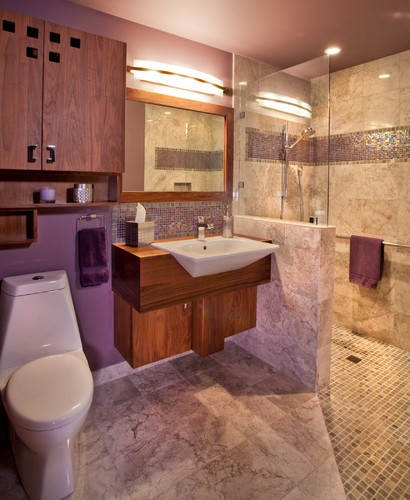 Contemporary Bathroom Design By Portland Design Build L Evansdesigngroup Inc Accessible