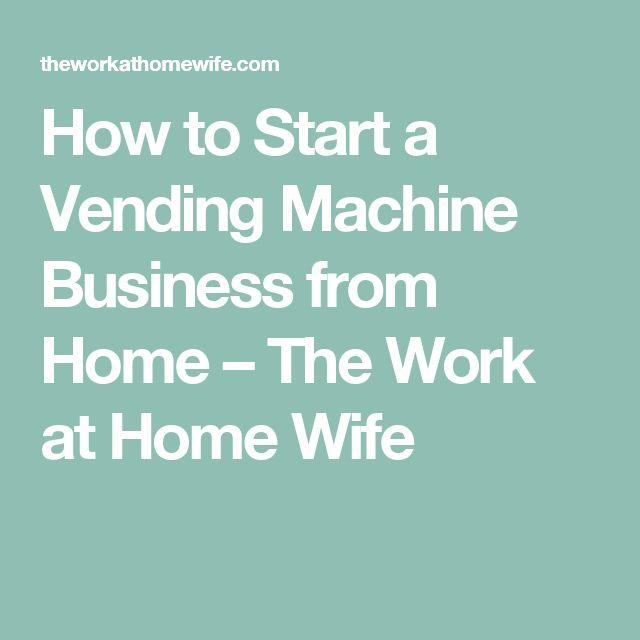 1000+ ideas about Vending Machine Business sur Pinterest