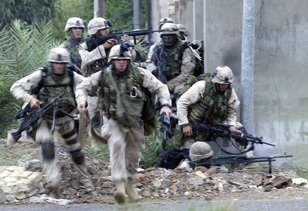 Marines in the 2004 Battle for Fallujah