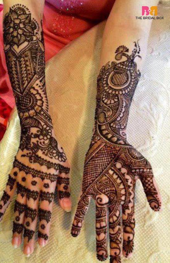 Rajasthani Bridal Mehndi Designs For Full Hands: Top 22 Of 2016