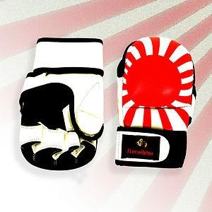 "Koroshiya ""Kyokujitsu"" MMA gloves. Available at www.sidekickboxing.co.uk"
