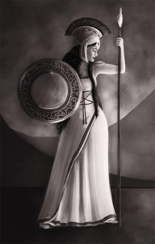 Warrior Woman  by *RileyStark