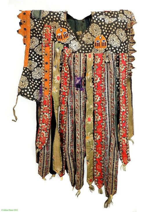 artafrica:  Yoruba Egungun costume, Nigeria