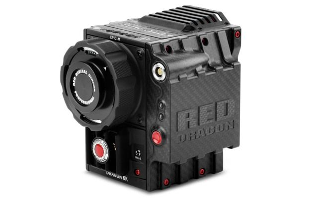 EPIC-M RED DRAGON (CARBON FIBER) W/ SIDE SSD MODULE (CARBON FIBER) AND MAGNESIUM LENS MOUNT
