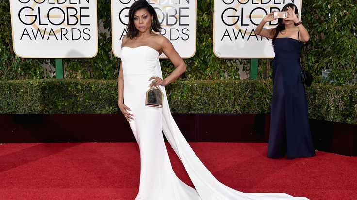 9 Celebs Who Wore Wedding Gowns To The Golden Globes: Taraji P. Henson, Saoirse Ronan & Laverne Cox all rocked the overwhelming trend we spotted on the Golden Globes red carpet; white dresses that could easily double as the gown you'd wear to walk down the aisle. Check out the other stunning wedding gown looks from the evening.