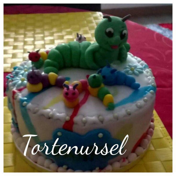 Raupen Torte
