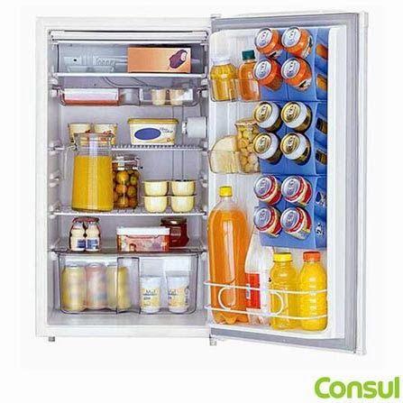 Refrigerador Compacto 120L Branco Consul, por apenas R$ 610,21