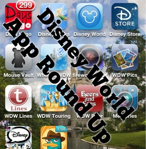 Picturing Disney   Disney World App Roundup for Smartphones