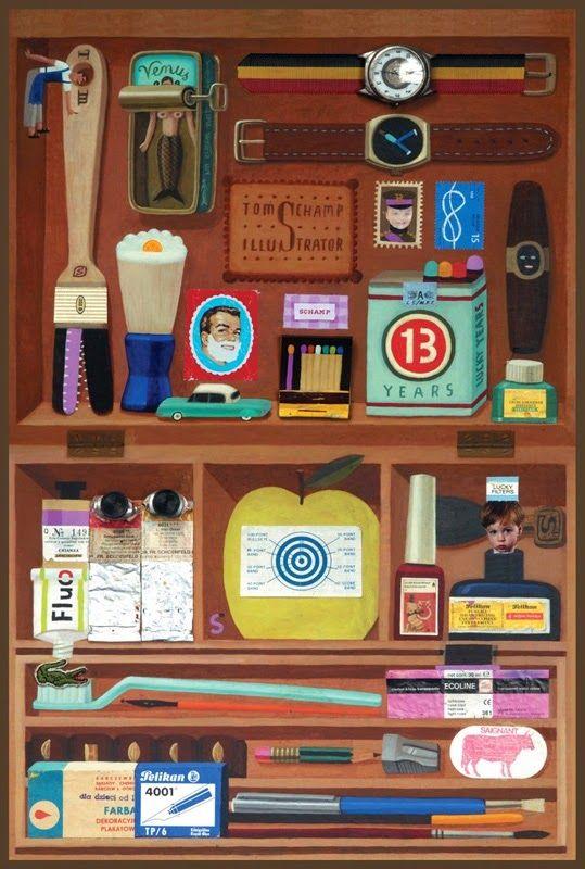 ilustradores-tom-schamp - Buscar con Google