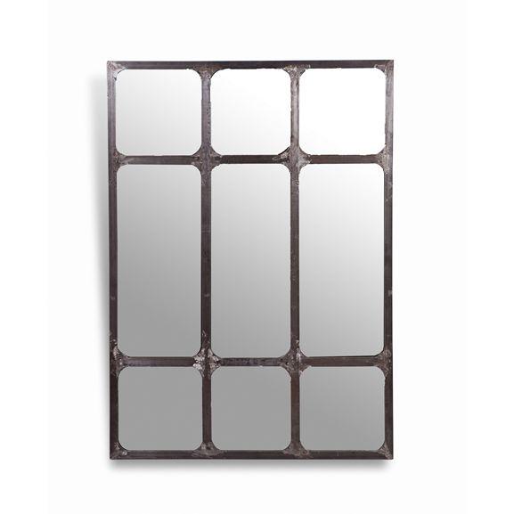 17 mejores im genes sobre espejos de hierro en pinterest for Espejo estilo industrial