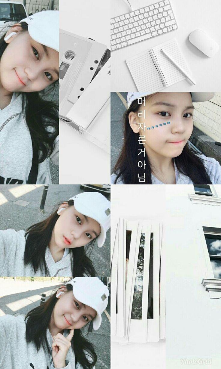 Gfriend Aesthetic Collage wallpaper lockscreen HD Sowon Yerin Eunha SinB Yuju Um...