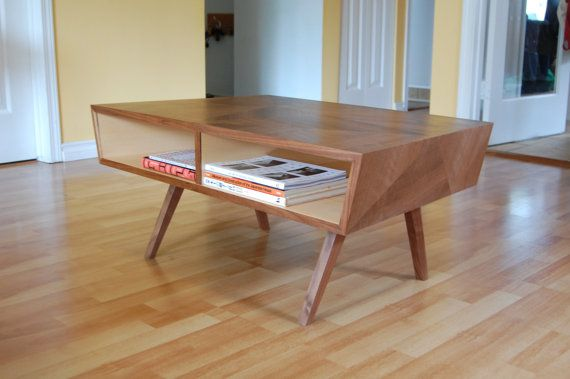 SOHCAHTOA The Mid-Century Modern Coffee Table by Kerfwork on Etsy