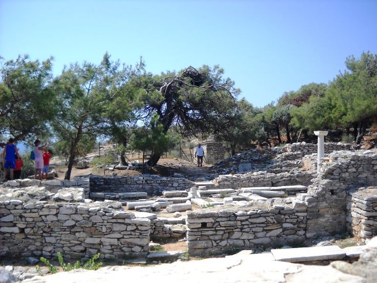 Řecko - Thassos - Antické Aliki