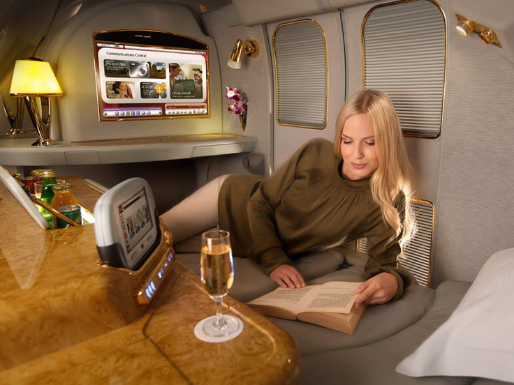 Retreat into your own world inside the Emirates A380 First Class Private Suite