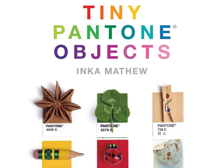 Tiny Pantone Objects Book (Pre-Order)