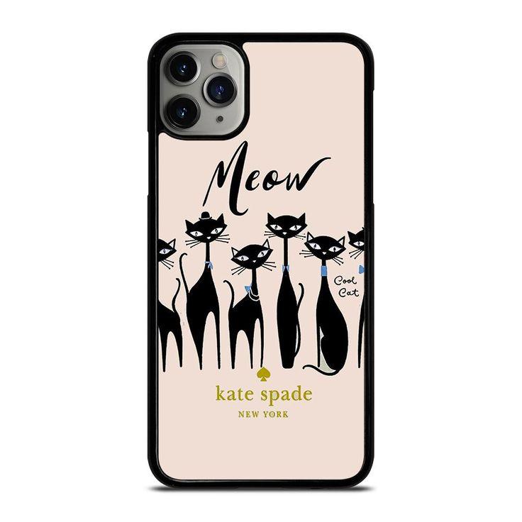 Kate spade meow cat iphone 11 pro max case casefine