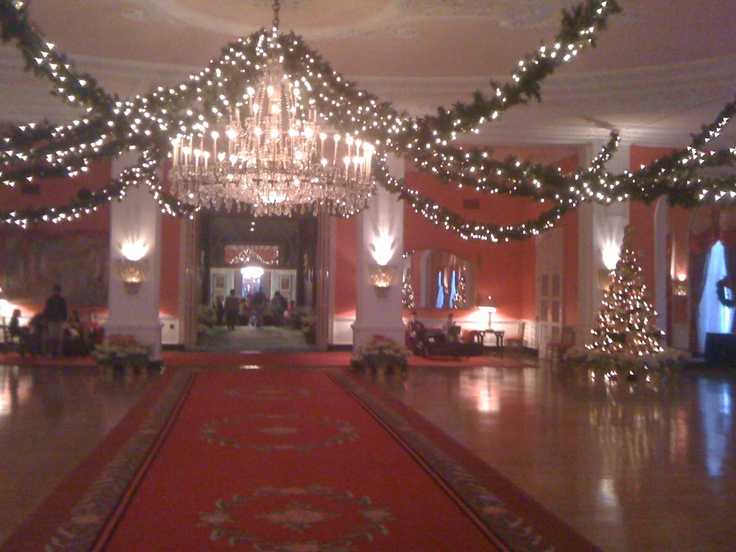 Ballroom at The Greenbrier during Christmas, White Sulpher Springs WV