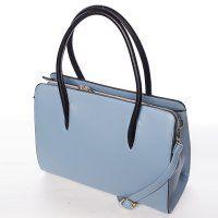 Modrá pevná dámská kabelka #kabelky #fashion #vánoce #dárky