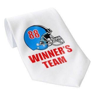 Football helmet tie