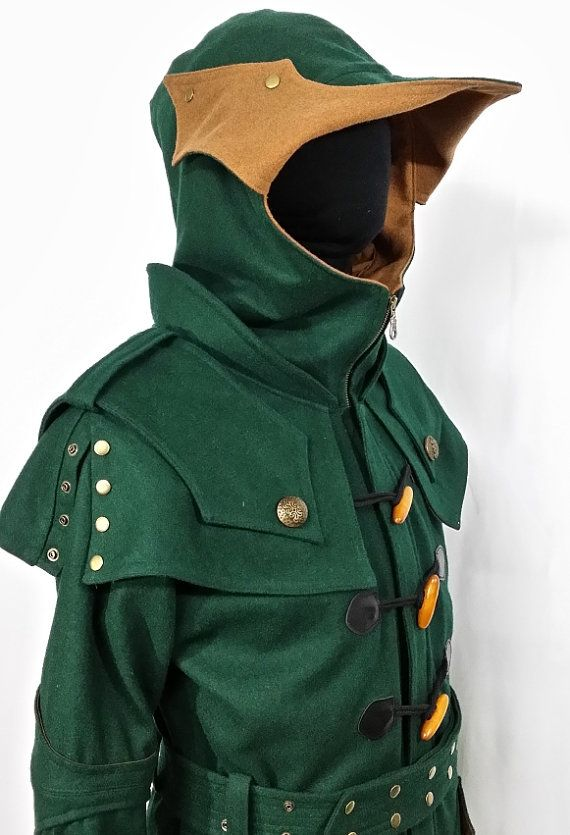 Orion The Hunter Knight Hoodie Coat by MagicShadow on Etsy, $460.00