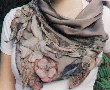 fabric flowers…