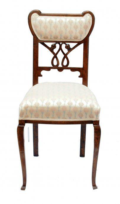Stuhl   Eiche   Jugendstil   Antiquitäten   Antik   Möbel
