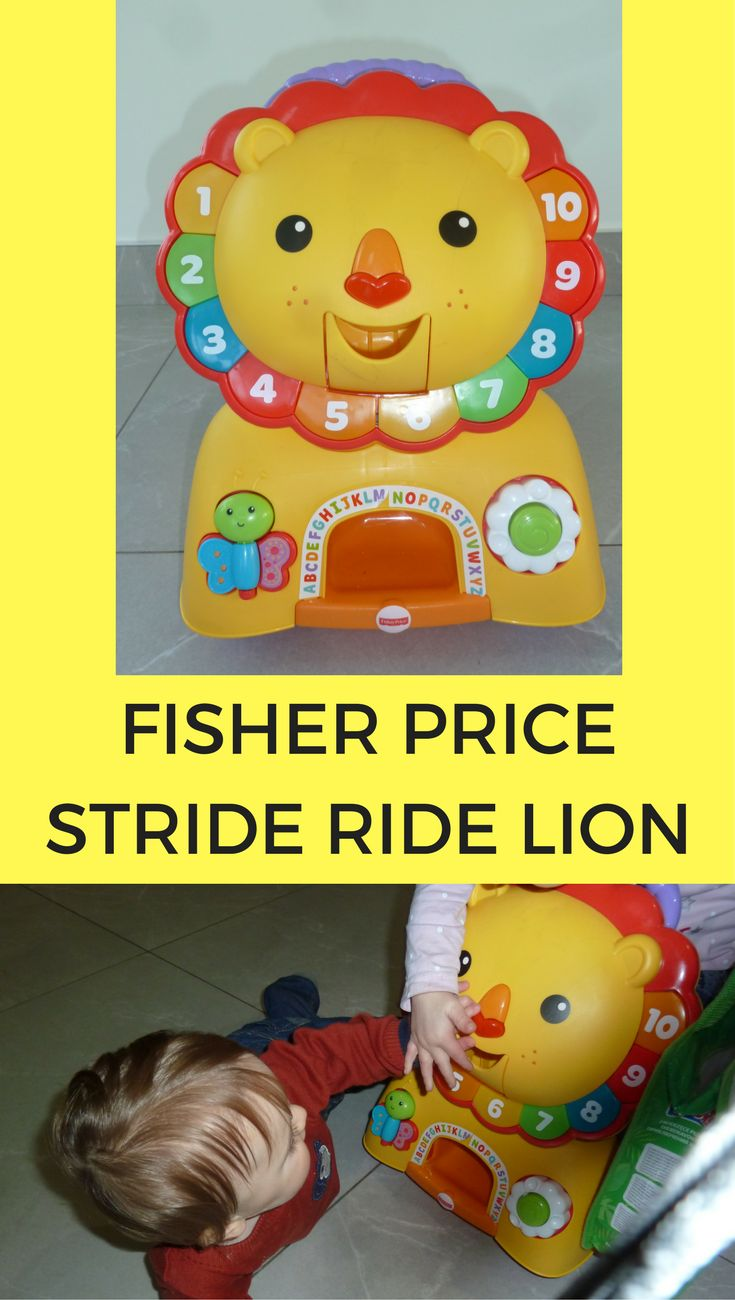 fisher price stride ride lion