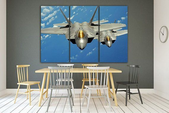 3 Panel Set Aircraft Airplane Plane Print Canvas Aircraft Art Etsy Airplane Decor Airplane Wall Art Kids Wall Decor