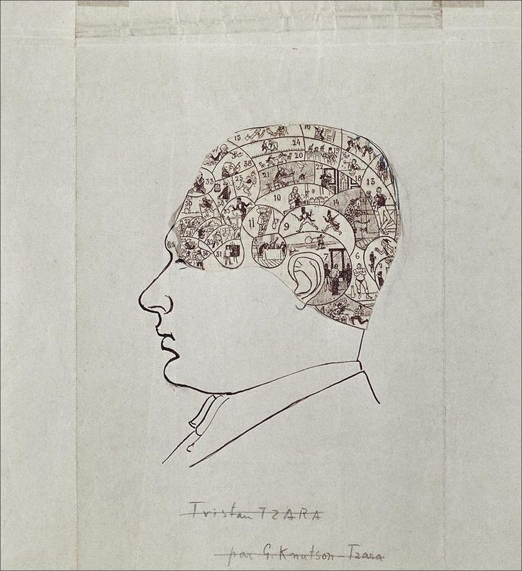 Tristan Tzara · Self Portrait · 1928 · Unknown location