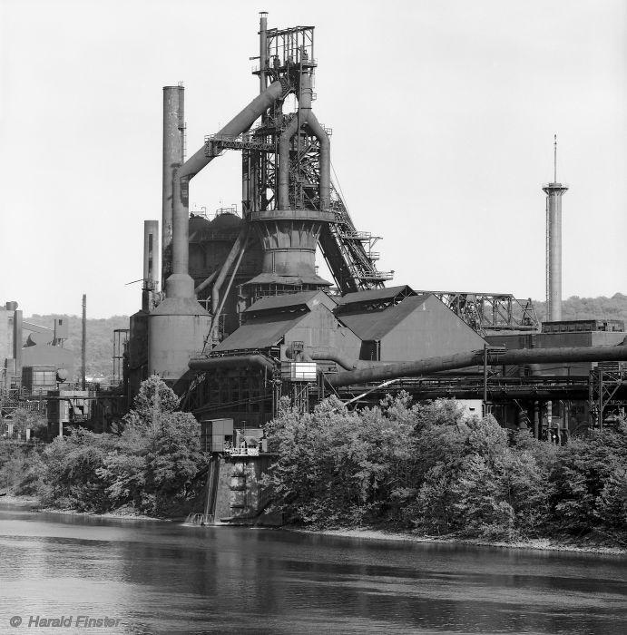 Blast furnace, Wheeling-Pittsburgh Steel company