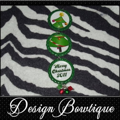 Bottle cap ornament