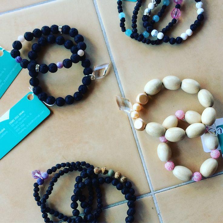 Aromatherapy jewellery by MariLove/ Bijou aromathérapeutique fait par MariLove
