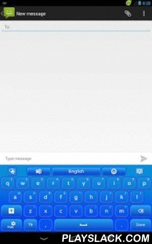 GO Keyboard Blue Glow  Android App - playslack.com , Be a trend-setter among your friends with this new blue GO Keyboard Blue Glow theme. With a new style every day will be amazing. Use your keyboard to type a happy text to a friend and change your mood. Don't be sad or blue! Now with the new GO Keyboard Blue Glow theme you can improve the appearance of your gadgets. Their keyboard will be easier to use. If you like to glow, this cool blue theme is just for you. Download the new GO Keyboard…