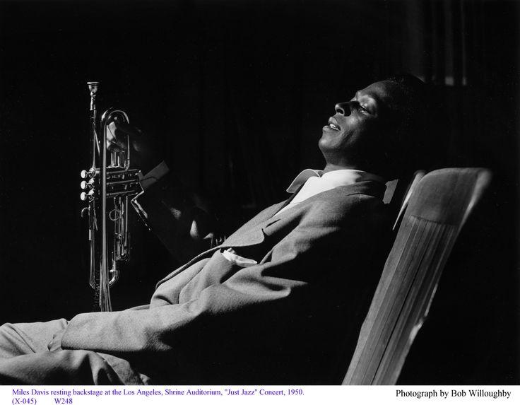 Love this portrait of Miles Davis!