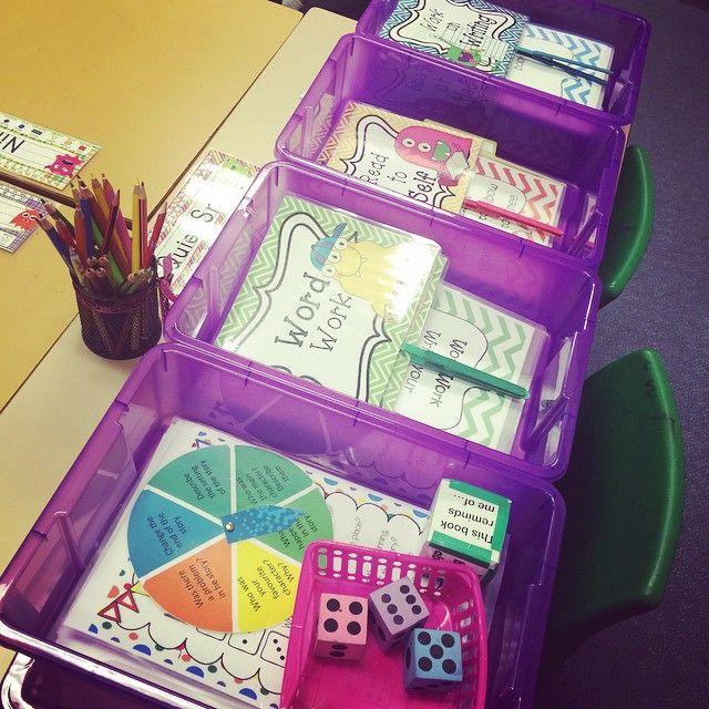 My daily 5/literacy station storage  #teacherlife #teachersofinstagram #teachersloveinstagram #teachersfollowteachers