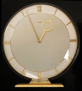 Art Deco Kienzle 8 Days Clock Mid Century Vintage Junghans Bronze Brass Atomic