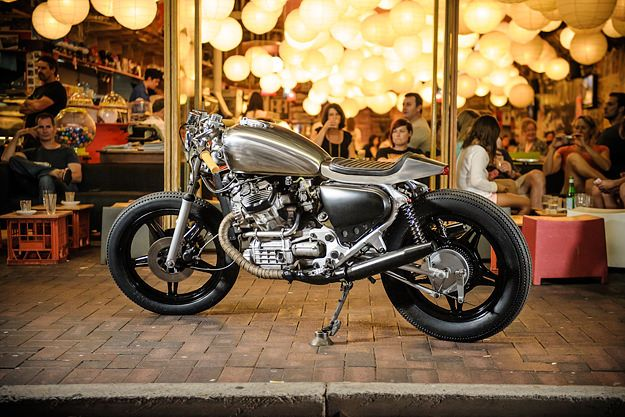 Garage Project | To turn the lumpy CX500 into a lean café racer, Garage Project's Rex Havoc enlisted the help of Brett Trutwein at Hand Made Vintage Kustoms.