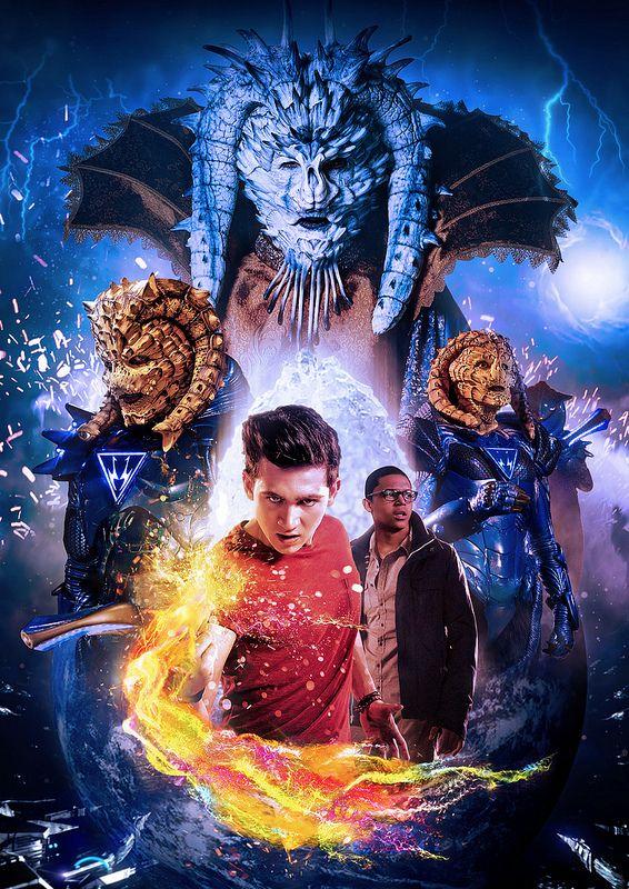 """Just fabulous! Fan art for Wizards vs Aliens series 2 finale """"All out war""""."""