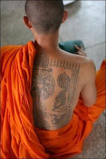 kingy design history: RAQUEL traditional thailand tattoos