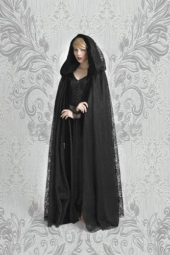 Gothic Clothing Cape gothic cloak vampire cape by TheAlteredCity