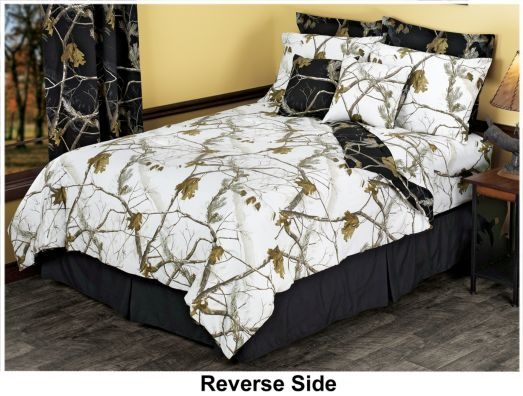 Best Bedroom Images On Pinterest Bedroom Ideas Camo Bedding - Black and grey camouflage comforter set