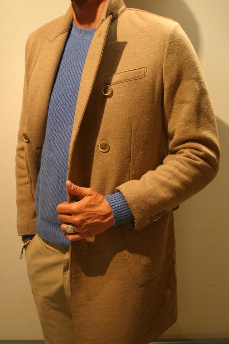 Cappotto jersey lana