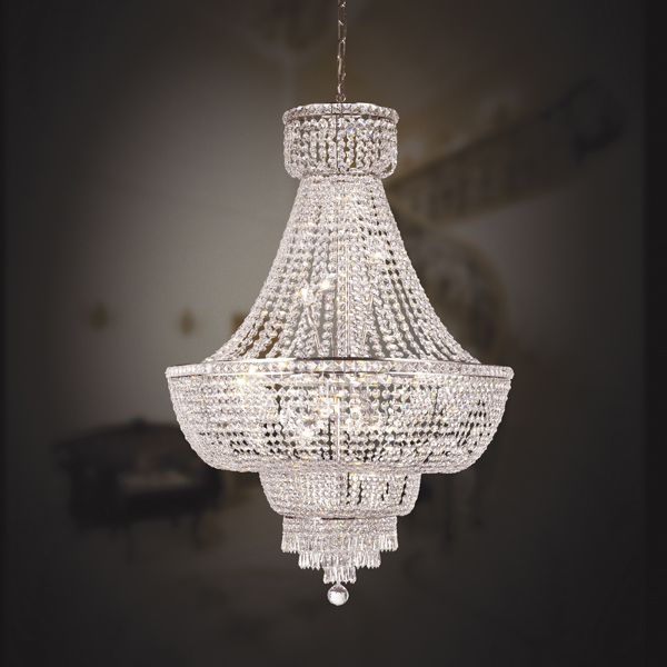 Chandeliers the grand crystal crown so elegant sharing hollywood luxury