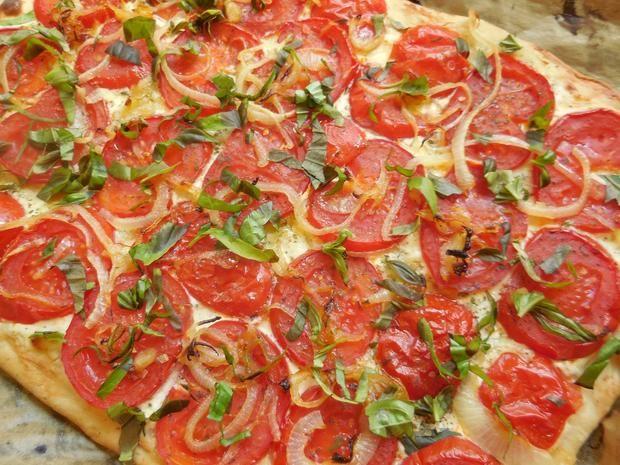 Rezept: Flammkuchen mit Tomaten Bild Nr. 385